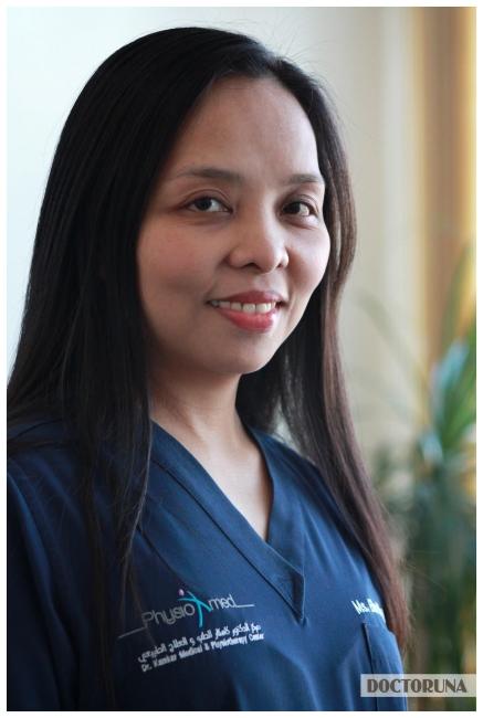 إلين ماي باوتيسيا أخصائي العلاج الطبيعي
