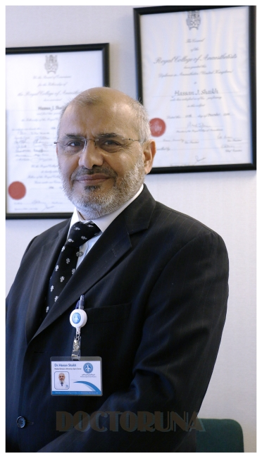 دكتور  حسن جبار شيخ أخصائي علاج الألم