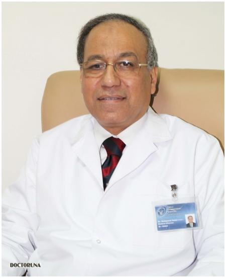 دكتور  محمد أحمد عمر دكتور الامراض الباطنية -الجهاز الهضمي والكبد